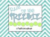 Roll to 100 Freebie