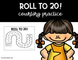 Roll to 20! Game board