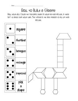 Roll to Build a Giraffe
