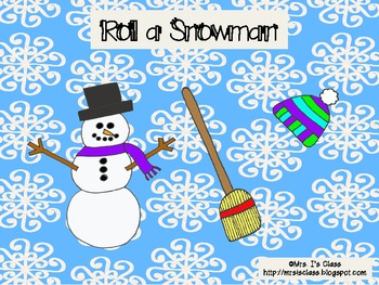 Roll to Build a Snowman