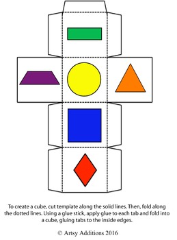 Roll to Create - Geometric Shapes