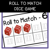 Roll to Match Dice Game