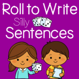 Roll to Write: Sentence Writing and Grammar Activity Pages