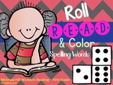 Roll,Read, & Color Spelling Words for Wonders Reading McGraw-Hill
