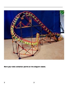 Roller Coaster 3-D Measurement Lab