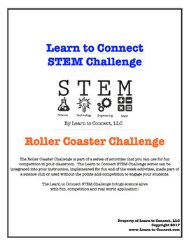 Roller Coaster Challenge by Learn to Connect STEM