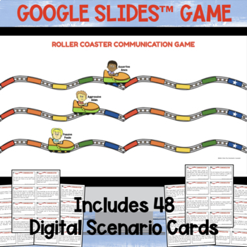 Roller Coaster Communication Game (from Resilience Park)