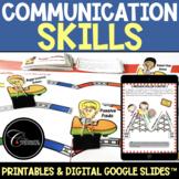 Communication Skills Lessons / Passive Assertive Aggressive / Google Slides™