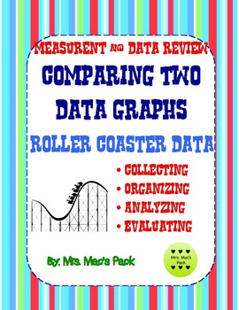 Roller Coaster Data - Collecting, Organizing, Analyzing, Comparing &  Data