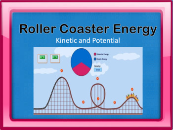Kinetic and Potential Energy Roller Coaster Simulation