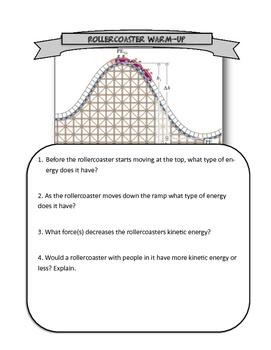 roller coaster physics gizmo answers pdf