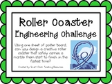 Roller Coaster: Engineering Challenge Project ~ Great STEM Activity!