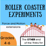 Roller Coaster Experiments
