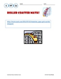 Roller Coaster Math - Making Customary Conversions