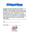 Roller Coaster Physics STEM Activity