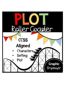 Roller Coaster Plot Structure Graphic Organizer: Problem, Climax, Solution,etc.