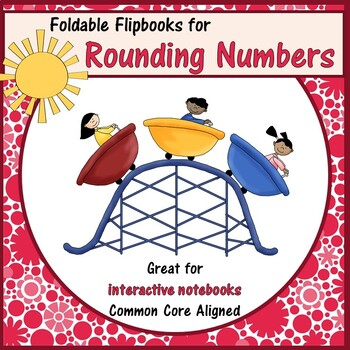 Roller Coaster Rounding Interactive Notebook and Foldable