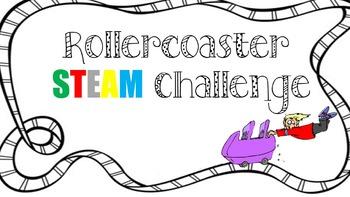 Roller Coaster STEAM Challenge BUNDLE