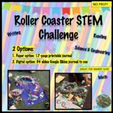 End of Year Roller Coaster STEM Challenge