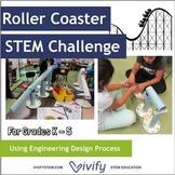 Roller Coaster STEM Challenge - Engineering Design (Grades K-5)