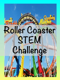 Roller Coaster STEM Challenge (Forces, Motion, Surfaces)