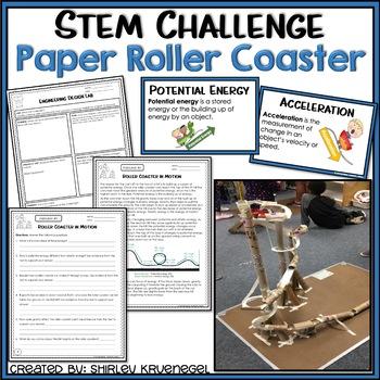 Paper Roller Coasters Teaching Resources Teachers Pay Teachers