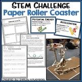 Paper Roller Coaster STEM Challenge