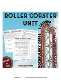 Roller Coaster Unit- 5 Lessons {Energy, Gravity, Newton's