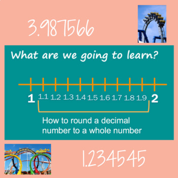 Roller Coster Rounding Powerpoint-WHOLE NUMBERS
