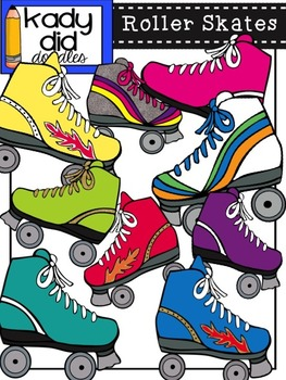 Roller Skates {by Kady Did Doodles} over 45 images