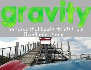 Roller Coaster Physics: STEM Challenge, Labs and Nonfiction Text Features