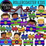Rollercoaster Kids {Creative Clips Clipart}