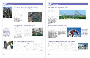 Rollercoaster Newsletter Project
