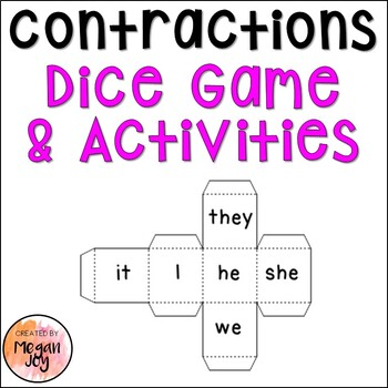 Contractions Game and Activities