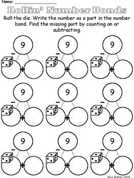 Rollin' Number Bonds - Math Dice Center
