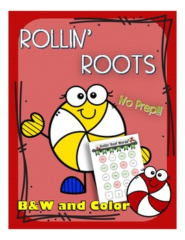 Rollin Root Words (Vocabulary / Morphology) NO PREP!!