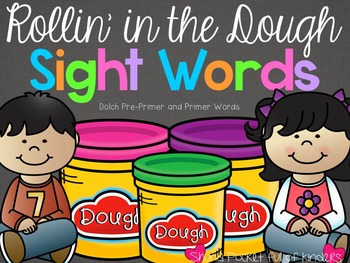 Rollin in the Dough Sight Words