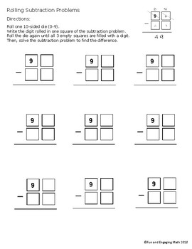 Rolling Addition, Subtraction, and Multiplication Algorithms