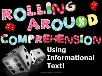 Rolling Around Comprehension~ Informational Text