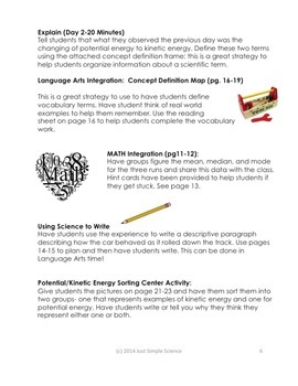 Potential/Kinetic Energy: Rolling Cars-Design Your Own Experiment