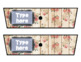Rolling Cart Drawer Labels * EDITABLE * Floral Rose Wood and Chalk