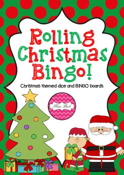Rolling Christmas BINGO!