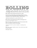 Rolling Expanded Notation Game