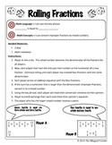 Rolling Fractions Game/Juego de tirando fracciones