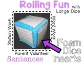 Creating Sentences - Rolling Fun!
