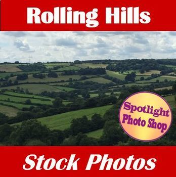 Rolling Hills - Stock Photos