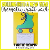 """""""Rolling"""" Into A New Year: Skate Craft and Writing Activity"""