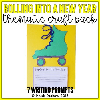 """Rolling"" Into A New Year: Skate Craft and Writing Activity"