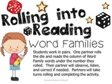 Rolling Into Reading!~ Word Families