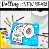 Rolling Into the New Year | Toilet Paper Writing and Craft